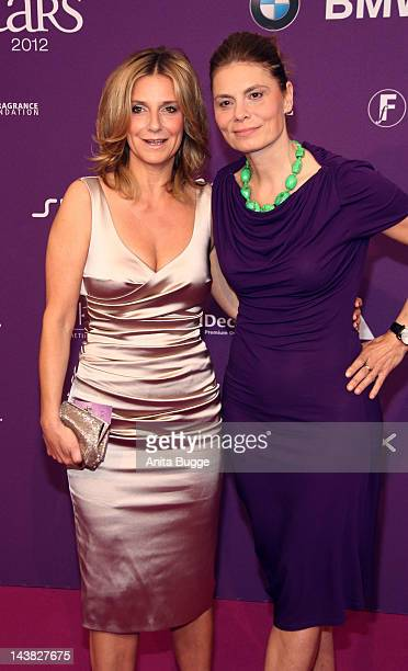 Kim Fisher and Sarah Wiener attend the 'Duftstars Awards 2012' at Tempodrom on May 4 2012 in Berlin Germany