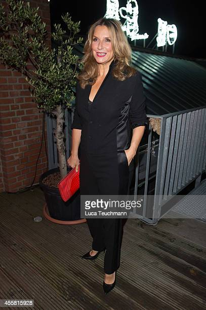 Kim Fisher attends at the Ursula Karven Celebrates 50th Birthday on September 20 2014 in Berlin Germany