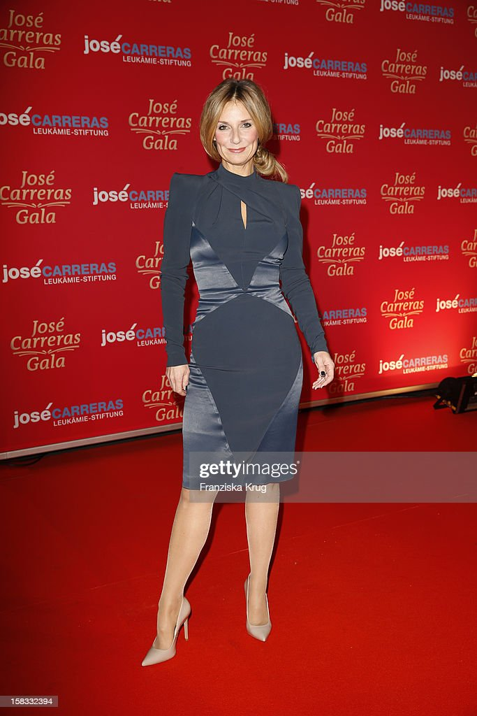 Kim Fisher attends the 18th Annual Jose Carreras Gala on December 13 2012 in Leipzig Germany