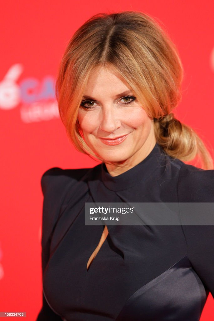 Kim Fisher attends the 18th Annual Jose Carreras Gala on December 13, 2012 in Leipzig, Germany.