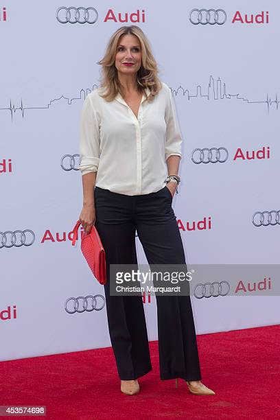 Kim Fisher attends the Audi Classic Open Air at Kulturbrauerei on August 13 2014 in Berlin Germany