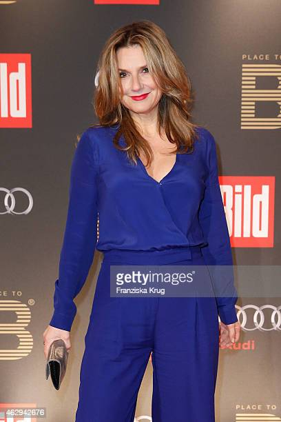 Kim Fisher attends the Bild 'Place to B' Party on February 07 2015 in Berlin Germany