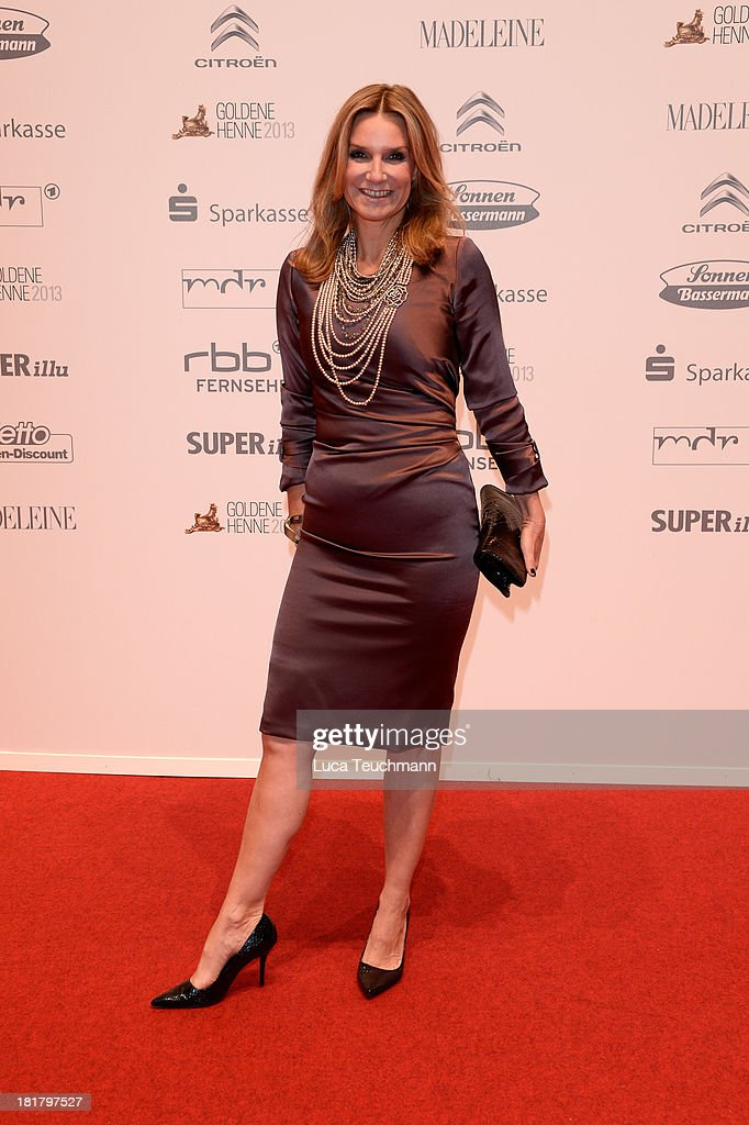 Kim Fisher attends the Goldene Henne 2013 at Stage Theater on September 25, 2013 in Berlin, Germany.