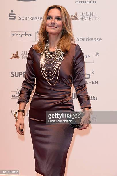Kim Fisher attends the Goldene Henne 2013 at Stage Theater on September 25 2013 in Berlin Germany