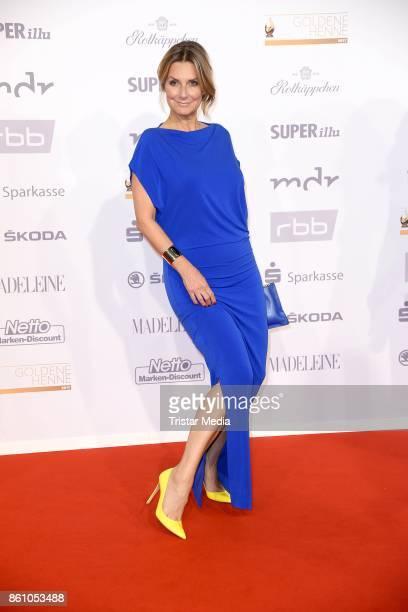 Kim Fisher attends the Goldene Henne on October 13 2017 in Leipzig Germany