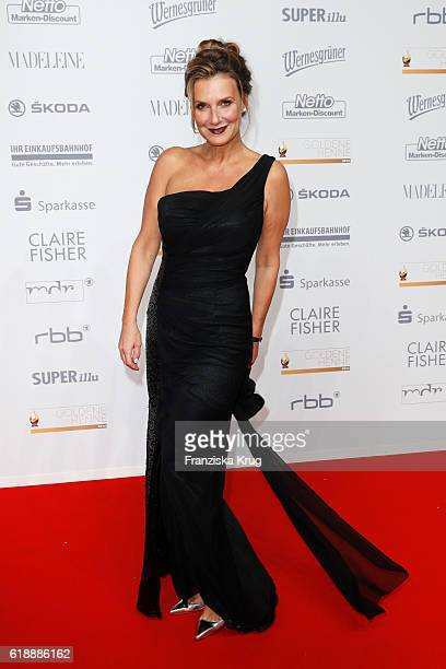 Kim Fisher attends the Goldene Henne on October 28 2016 in Leipzig Germany