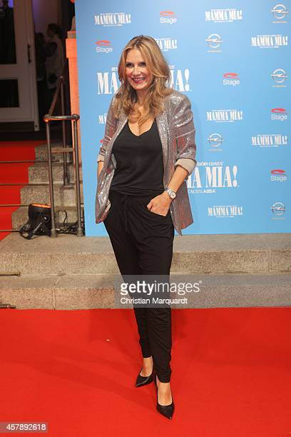 Kim Fisher attends the 'Mamma Mia' Musical Premiere on October 26 2014 in Berlin Germany
