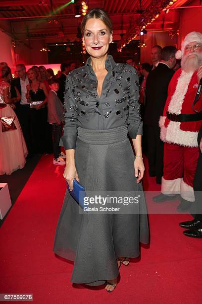 Kim Fisher is seen during the Ein Herz Fuer Kinder reception at Adlershof Studio on December 3 2016 in Berlin Germany