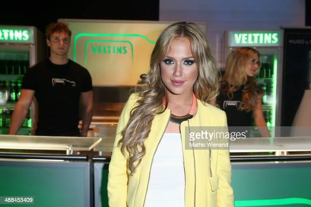 Kim Gloss attends the after show party of the 'Deutschland sucht den Superstar' show at Coloneum on May 3 2014 in Cologne Germany