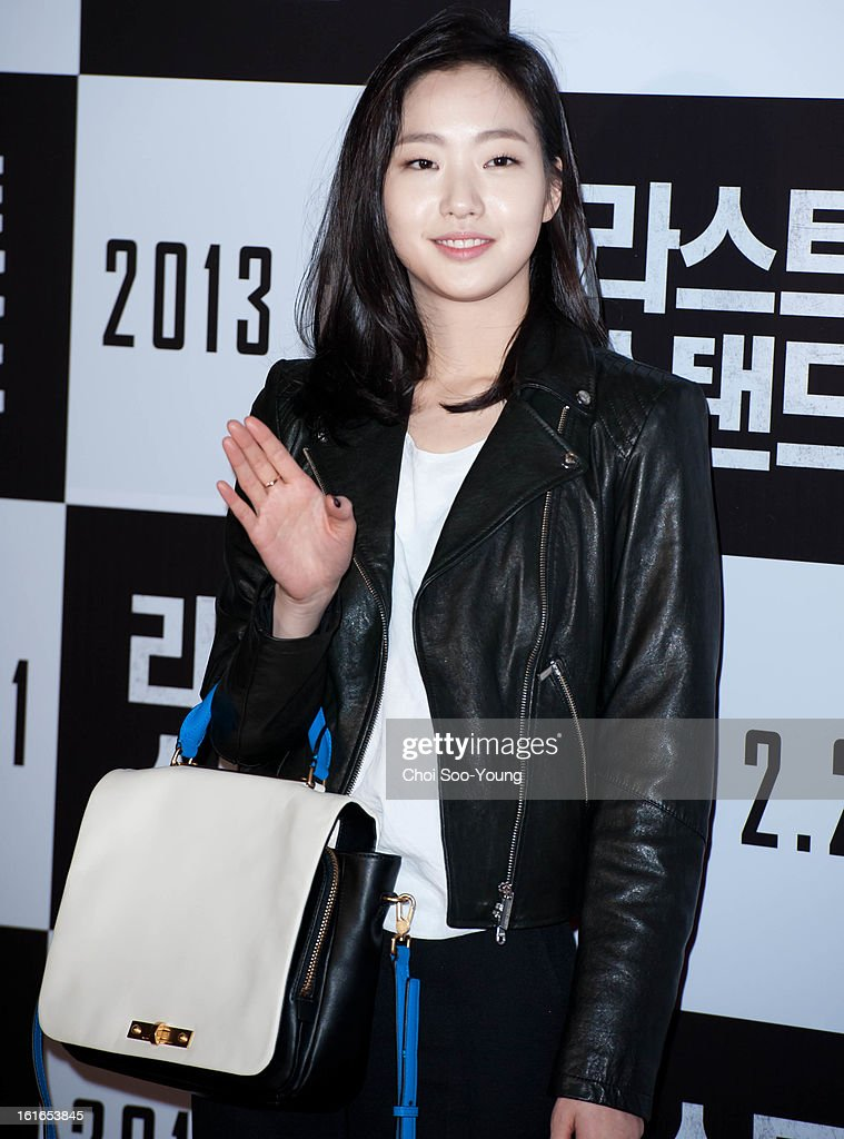 <a gi-track='captionPersonalityLinkClicked' href=/galleries/search?phrase=Kim+Go-Eun&family=editorial&specificpeople=9477456 ng-click='$event.stopPropagation()'>Kim Go-Eun</a> attends the 'The Last Stand' VIP Press Screening at Wangsimni CGV on February 13, 2013 in Seoul, South Korea.