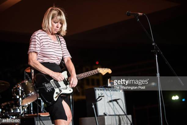 Kim Gordon performs at the Concert For Yoko Ono at the Hirshhorn