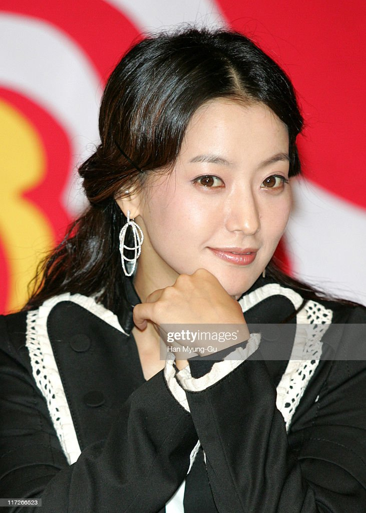 Kim Hee-Seon during 10th Pusan International Film Festival - The Myth Press Conference at Paradise Hotel, Capri Room in Pusan, South, South Korea.