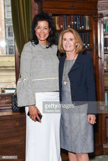 Kim Heirston and Lis Waterman attend Audrey Gruss' Hope for Depression Research Foundation Dinner with Author Daphne Merkin at The Metropolitan Club...