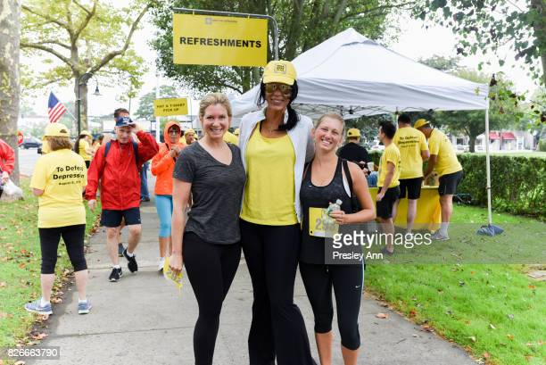 Kim Heirston attends Hope for Depression Research Foundation's Walk of Hope 5K Run at Southampton Cultural Center on August 5 2017 in Southampton New...