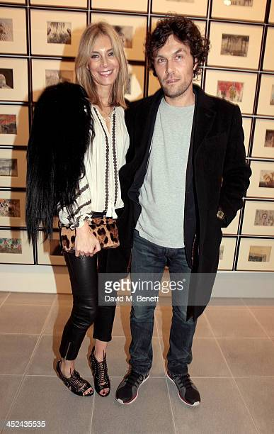 Kim Hersov and Barry Reigate attend the patron's private view of 'Jake and Dinos Chapman Come and See' a new exhibition at The Serpentine Sackler...