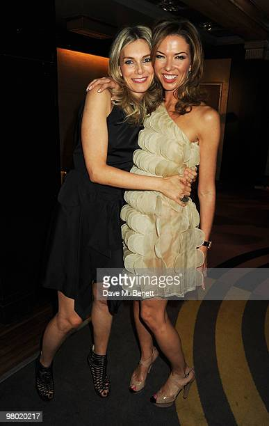 Kim Hersov and Heather Kerzner attend the Mummy Rocks party in aid of the Great Ormond Street Hospital Children's Charity at the Bloomsbury Ballroom...