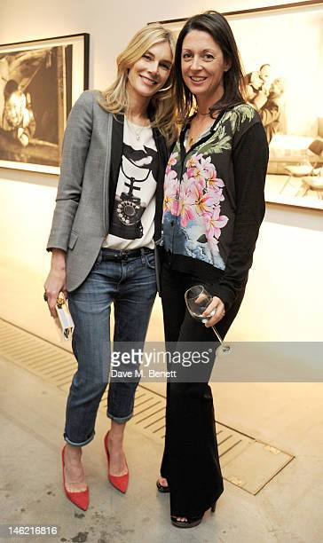 Kim Hersov and Mary McCartney attend as Vertu and Smile Train launch their first charity handset the Constellation Smile with a private viewing of...