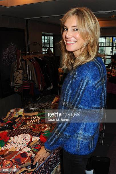 Kim Hersov attends a party organised by the fashion brand Muzungu sisters at Pont St restaurant on December 13 2013 in London England