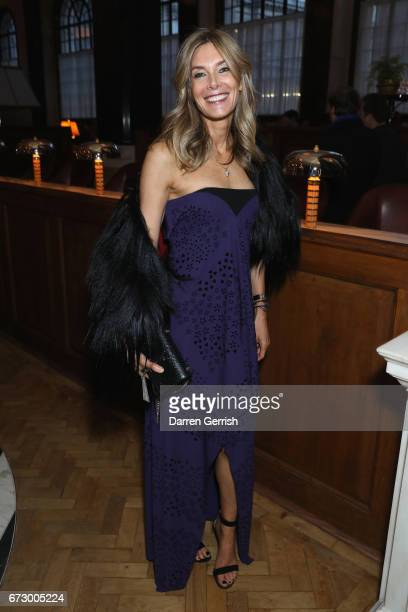 Kim Hersov attends Roland Mouret's The Dinner of Love at Cecconi's a preopening dinner at The Ned on April 25 2017 in London England