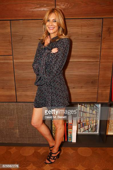 Kim Hersov attends the BFC Fashion Trust x Farfetch cocktail reception on April 28 2016 in London England