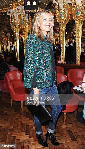 Kim Hersov attends the GRACE debut and AW14 dinner at Cafe Royal on February 15 2014 in London England