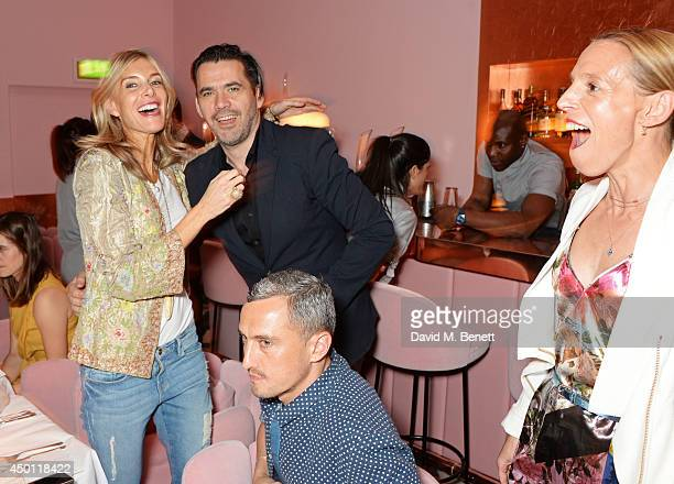 Kim Hersov Roland Mouret Richard Nicoll and Tiphaine de Lussy attend a private dinner hosted by Mourad Mazouz Stephen Friedman and David Shrigley to...