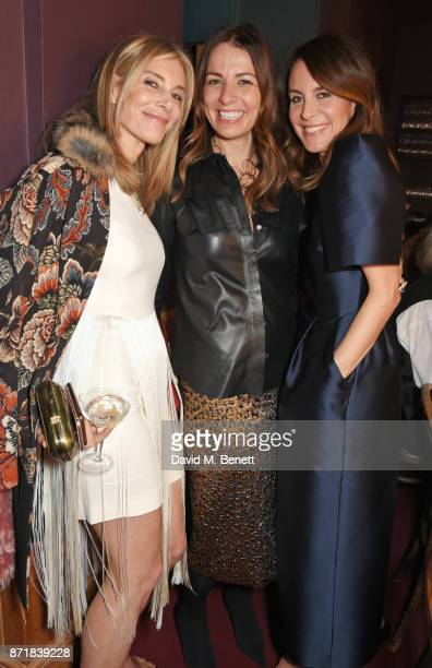 Kim Hersov Yana Peel and Alison Loehnis President NETAPORTER MR PORTER attend a private dinner hosted by NETAPORTER and Stella McCartney to celebrate...