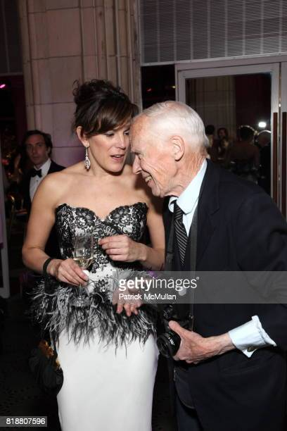 Kim Hicks and Bill Cunningham attend HALE HOUSE CENTER 2010 Spring Dinner Dance Honoring Frederick Anderson Judith Giuliani at Guastavino's on April...