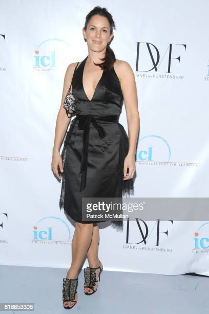 Kim Hicks attends INSTITUTE FOR CIVIC LEADERSHIP 2010 Spring Benefit at DVF Studio on June 15 2010 in New York City