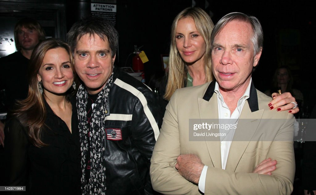 Kim Hilfiger, husband musician <a gi-track='captionPersonalityLinkClicked' href=/galleries/search?phrase=Andy+Hilfiger&family=editorial&specificpeople=228433 ng-click='$event.stopPropagation()'>Andy Hilfiger</a>, <a gi-track='captionPersonalityLinkClicked' href=/galleries/search?phrase=Dee+Ocleppo&family=editorial&specificpeople=592235 ng-click='$event.stopPropagation()'>Dee Ocleppo</a> and husband designer Tommy Hilfiger attend The Click Clack Boom performance presented by Andrew Charles and hosted by <a gi-track='captionPersonalityLinkClicked' href=/galleries/search?phrase=Andy+Hilfiger&family=editorial&specificpeople=228433 ng-click='$event.stopPropagation()'>Andy Hilfiger</a> & Mia Tyler at the Viper Room on April 7, 2012 in West Hollywood, California.