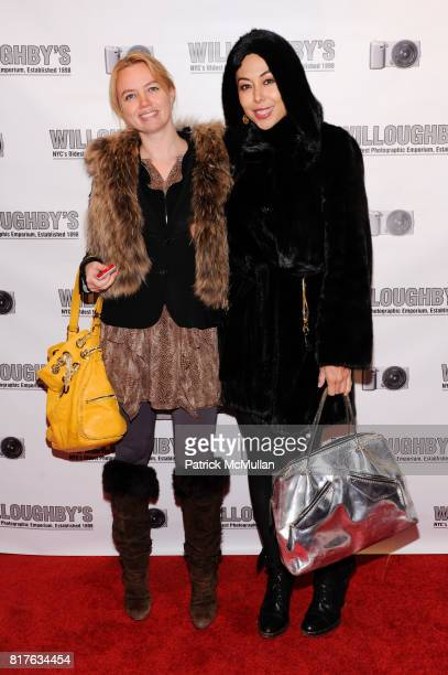 Kim Hoedeman and Renata Black attend SONY Opening at WILLOUGHBY'S with NIGEL BARKER'S 'BEAUTY EQUATION' at Willouhby's on December 9 2010 in New York...