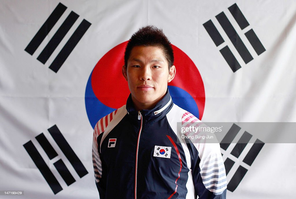Kim Jae-Bum of the South Korean Judo Team poses during the South Korea Olympic Team Media session at the Taereung Training Center on June 27, 2012 in Seoul, South Korea.