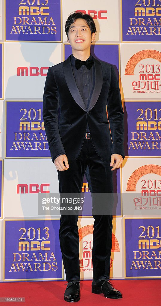 <a gi-track='captionPersonalityLinkClicked' href=/galleries/search?phrase=Kim+Jae-Won&family=editorial&specificpeople=2550526 ng-click='$event.stopPropagation()'>Kim Jae-Won</a> arrives at the red carpet of the 2013 MBC drama awards at MBC Open hall on December 30, 2013 in Seoul, South Korea.