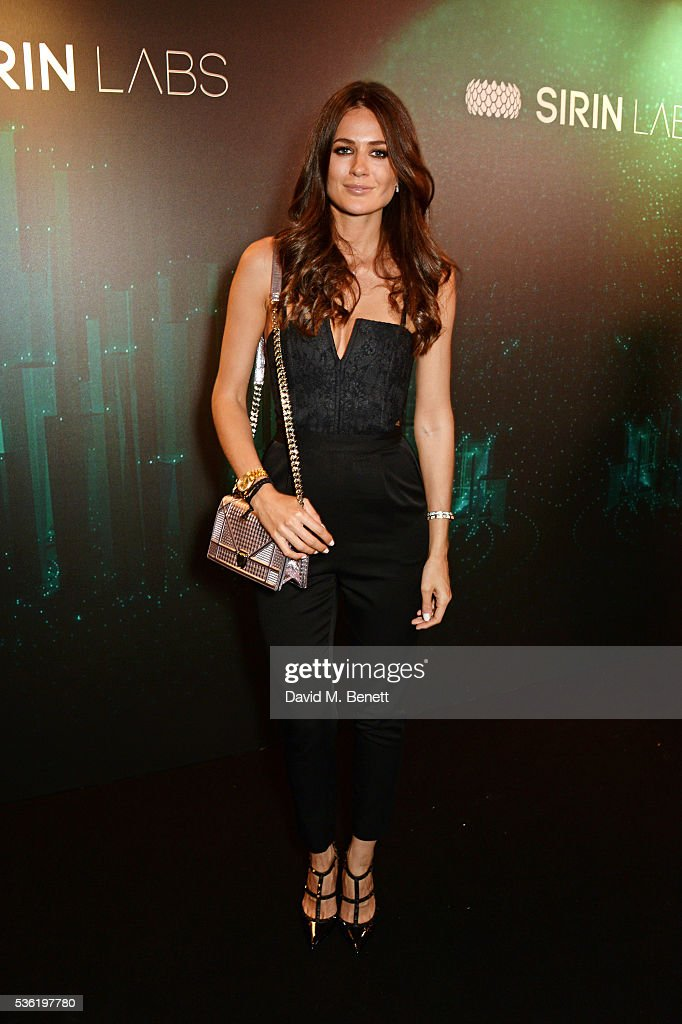Kim Johnson attends as SIRIN LABS Launches SOLARIN at One Marylebone on May 31, 2016 in London, England.