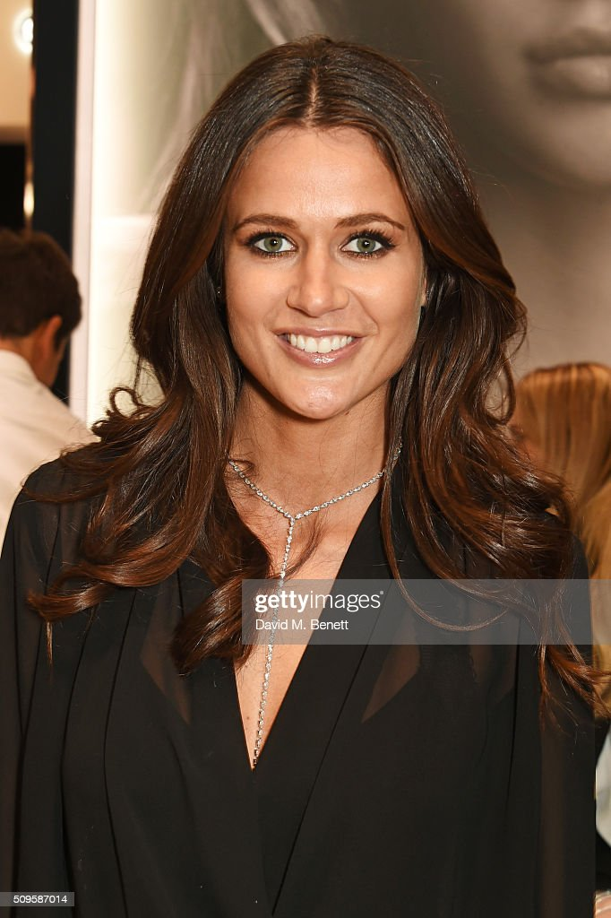 Kim Johnson attends the APM Monaco flagship store opening on South Molton Street on February 11, 2016 in London, England.