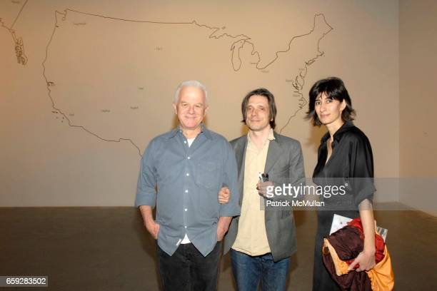 Kim Jones Jeremy Deller and Abaseh Mirvali attend New Museum Presents Three M Project NEW COMMISSIONS at New Museum on February 10 2009 in New York...