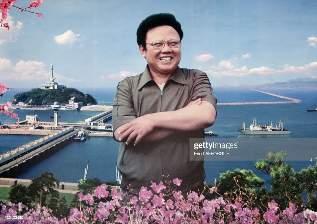 Kim Jong Il in Pyongyang, North Korea on May 17, 2009.