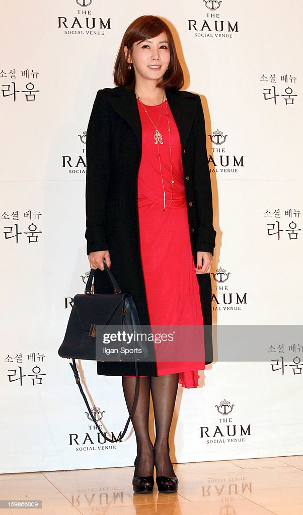 Kim Jung-Eun attends So Yu-Jin's wedding at the Raum on January 19, 2013 in Seoul, South Korea.