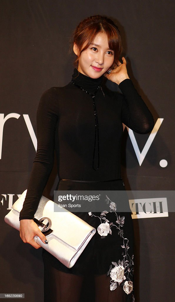 Kim Jung-Min attends the 'drww.' launch & beauty talk concret at Conrad Hotel on March 28, 2013 in Seoul, South Korea.