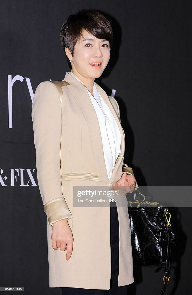 Kim Jung-Nan attends the 'drww.' launch & beauty talk concert at Conrad Hotel on March 28, 2013 in Seoul, South Korea.