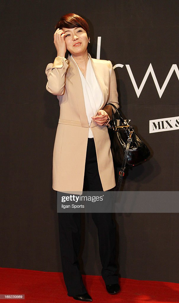 Kim Jung-Nan attends the 'drww.' launch & beauty talk concret at Conrad Hotel on March 28, 2013 in Seoul, South Korea.