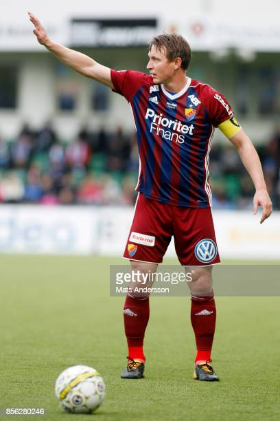 Kim Kallstrom of Djurgardens IF during the Allsvenskan match between GIF Sundsvall and Djurgardens IF at Norrporten Arena on October 1 2017 in...