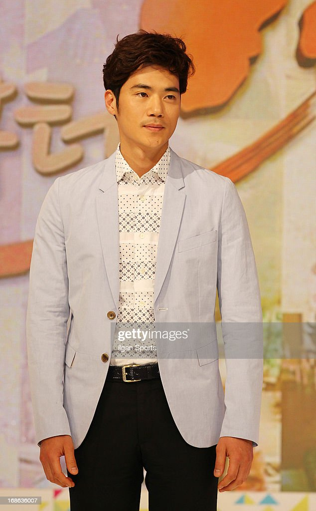 Kim Kang-Woo attends the '2013 Hope TV SBS' Press Conference at SBS Prism Tower on May 8, 2013 in Seoul, South Korea.