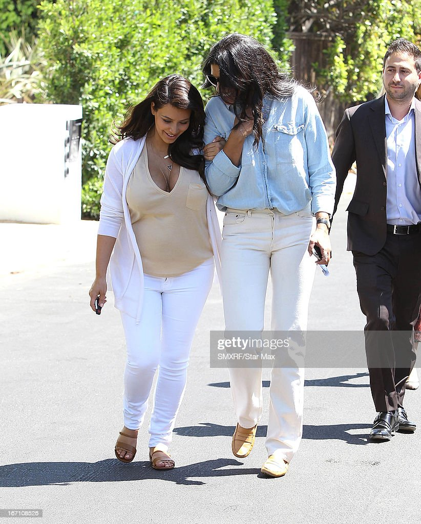 <a gi-track='captionPersonalityLinkClicked' href=/galleries/search?phrase=Kim+Kardashian&family=editorial&specificpeople=753387 ng-click='$event.stopPropagation()'>Kim Kardashian</a> and designer Rachel Roy as seen on April 20, 2013 in Los Angeles, California.