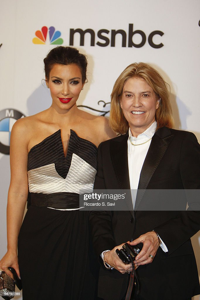 Kim Kardashian and Greta Van Susteren attend the 2010 MSNBC White House Correspondents Dinner After Party at the Andrew W. Mellon Auditorium on May 1, 2010 in Washington, DC.