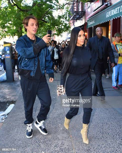 Kim Kardashian and Jonathan Cheban seen out in Manhattan on May 15 2017 in New York City