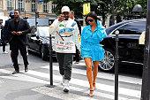 Celebrity Sightings In Paris - June 21, 2018