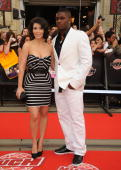 Kim Kardashian and Reggie Bush arrive on the red carpet of the 20th Annual MuchMusic Video Awards at the MuchMusic HQ on June 21 2009 in Toronto...