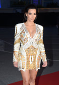 Kim Kardashian arrives at Cruel Summer Kanye West's art film project with the Doha Film Institute which debuts May 23 at the Cannes Film Festival