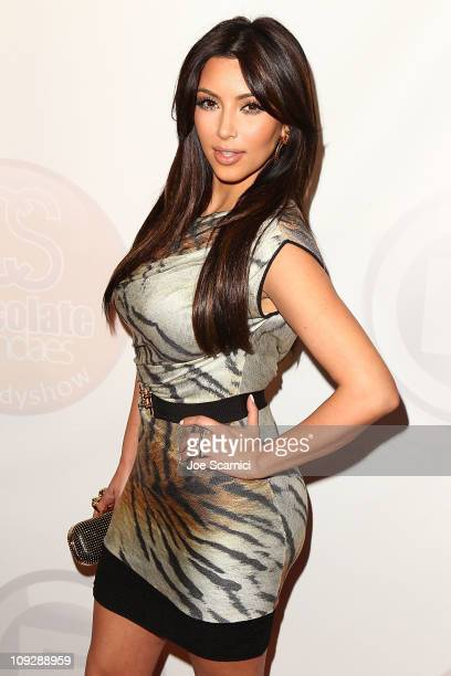 Kim Kardashian arrives at Kevin Hart's 'Laugh At My Pain' Official After Party Hosted by Khloe Kardashian and Lamar Odom at Club Nokia on February 18...